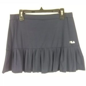 FILA NAVY BLUE PLEATED SIZE SMALL Tennis Skort
